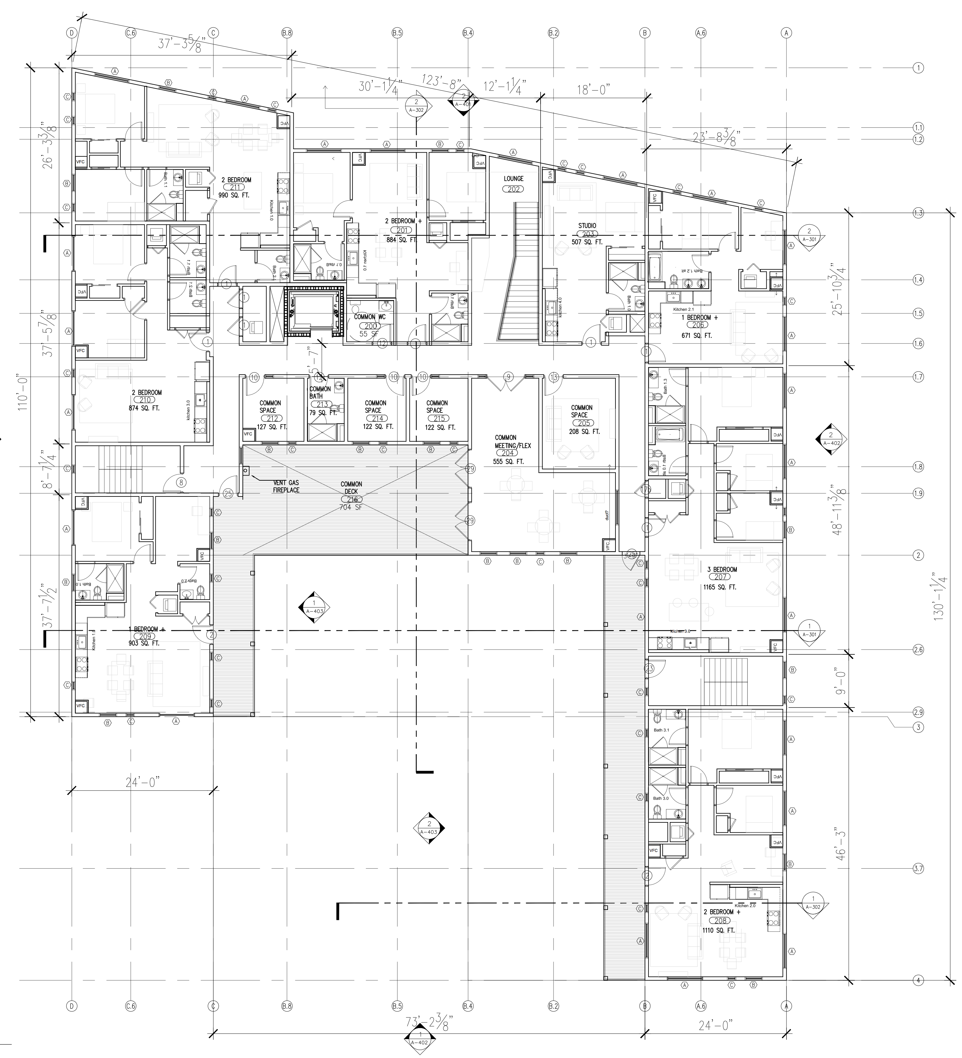 2nd Floor Plans • Bay State Commons