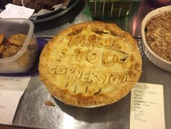 Thank you Cornerstone pie