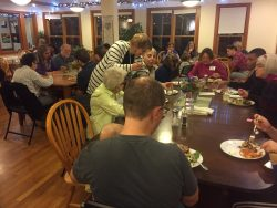 Gathering at Cornerstone Village cohousing