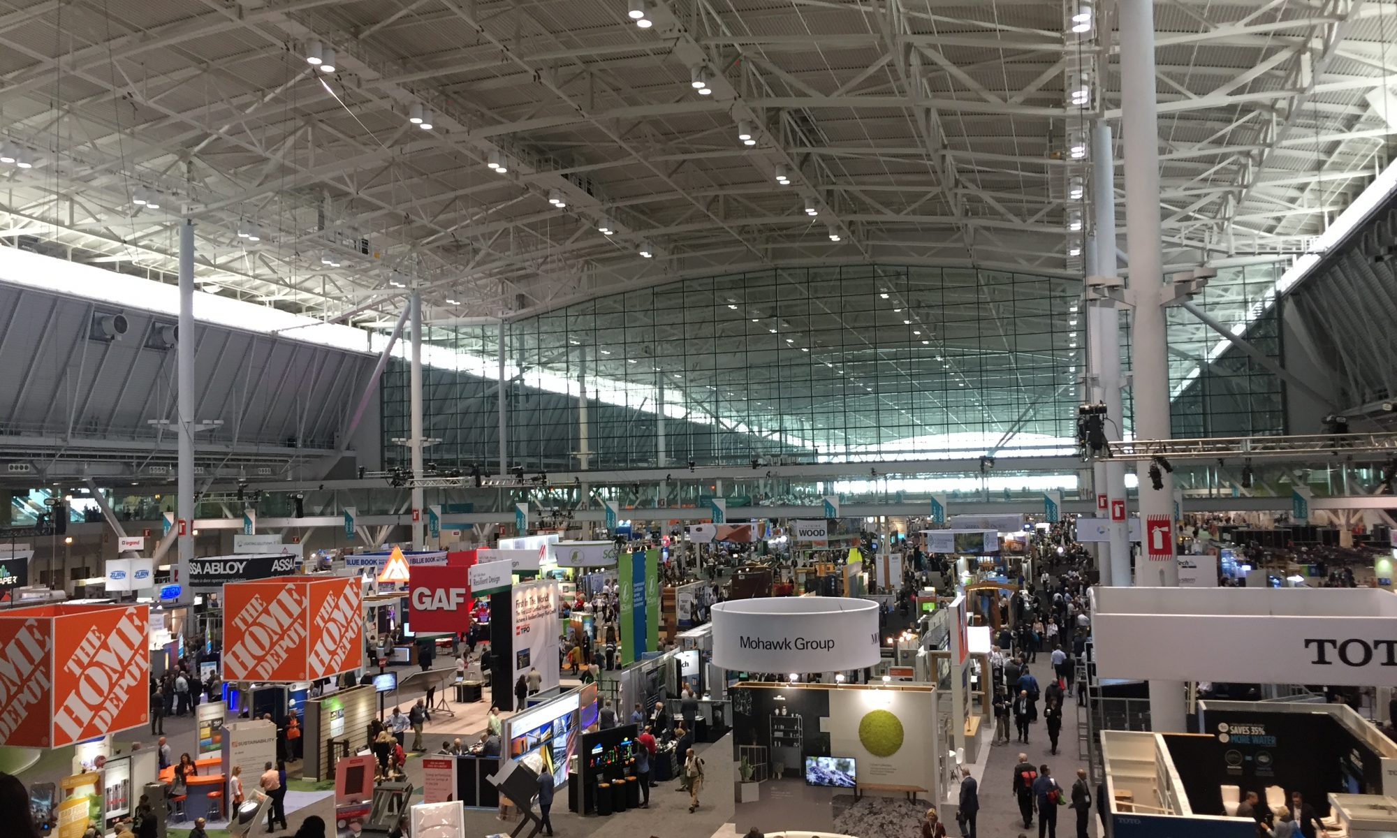 View of GreenBuild Expo
